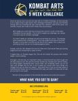 9 Wk Challenge-Good Luck!