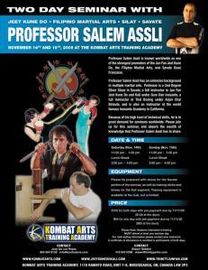 Salem Assli: Ninja Savateur