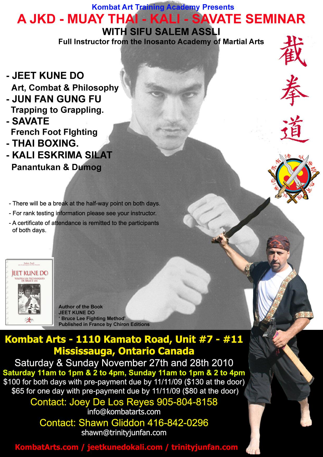 More Details On This Weekend S Salem Assli Seminar