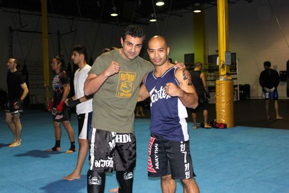 Kru Mehdi teaching at Kombat Arts in Mississauga