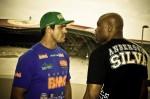 Video: Anderson Silva's Muay Boran elbow, Vitor Belfort's straight blast